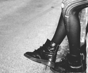 black and white, boots, and black image