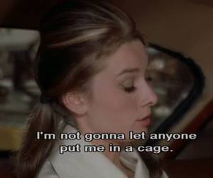 audrey hepburn, Breakfast at Tiffany's, and cage image