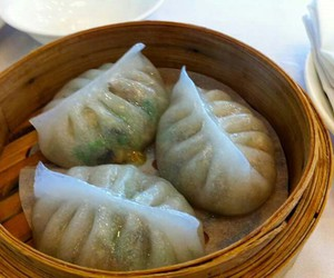 chinese, dumpling, and steam image