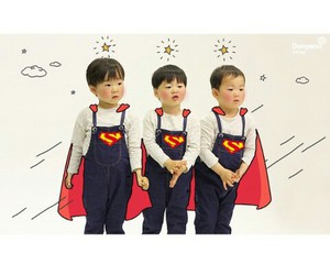 triplets, korean boy, and manse image
