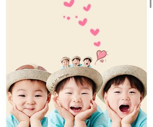 kpop, triplets, and song daehan image
