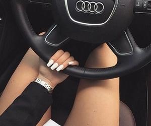 nails, car, and audi image