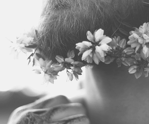 boy, inspiration, and flower child image