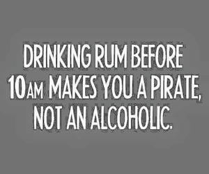 drink, pirate, and rum image