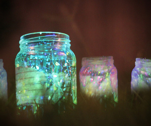 light, jar, and photography image
