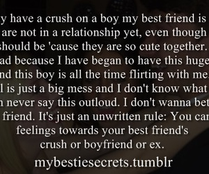 bad, best friend, and confession image