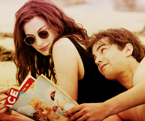 Anne Hathaway, jim sturgess, and vintage image