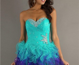 s and short prom dress image