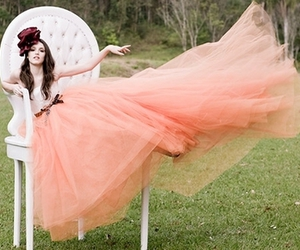 dress, pink, and isabelle drummond image