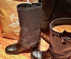 boots, fashion, and louboutin image