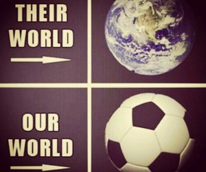 soccer and world image
