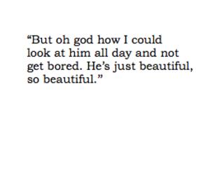beautiful, crush, and him image