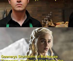 coffee, funny, and thrones image