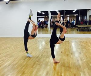 dance, fitness, and needle image