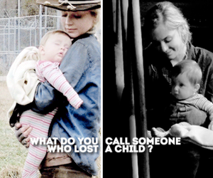baby, the walking dead, and my bby image
