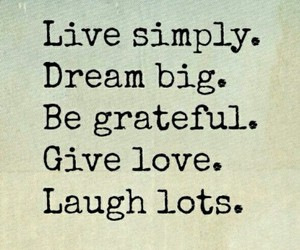 Dream, laugh, and life image