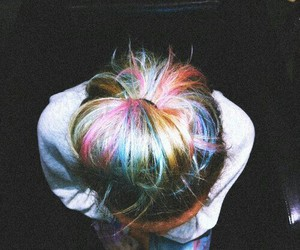 hair, girl, and hipster image