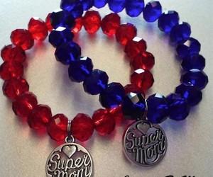 super mom charm bracelet image
