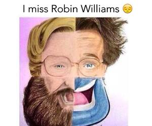robin williams, aladdin, and miss you image