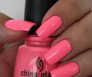colors, nails, and neon image
