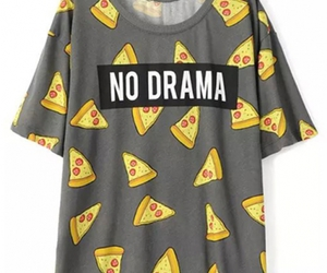 clothes, pizza, and fashion image