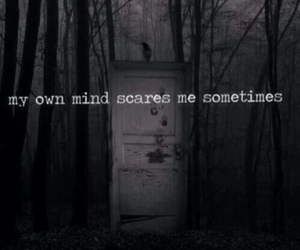 mind, dark, and grunge image