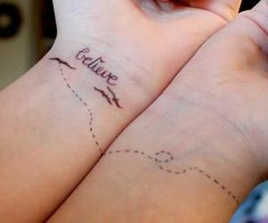 tattoo and believe image