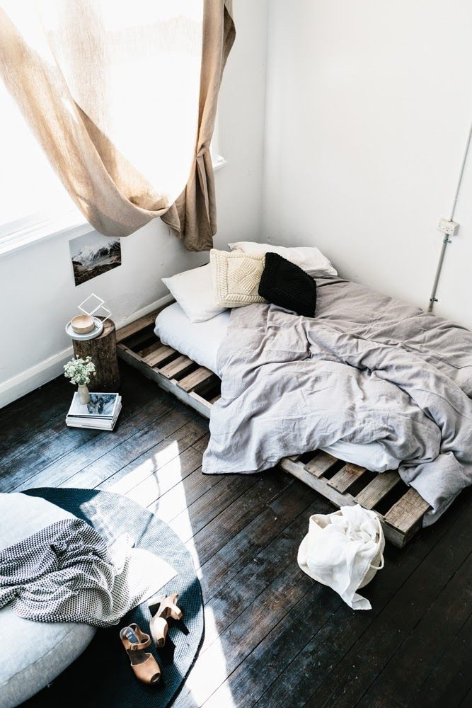 bed, bedroom, and grunge image