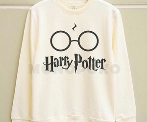 harry potter, sweater, and white image
