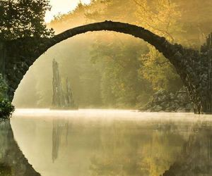 bridge, nature, and germany image