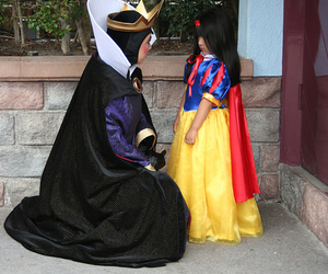 costumes, witch, and snow white image