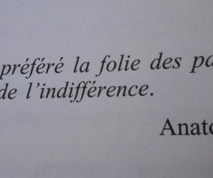 folie, french, and indifference image