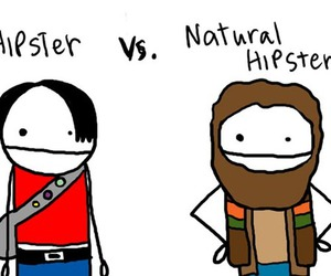 hipster, natural, and funny image