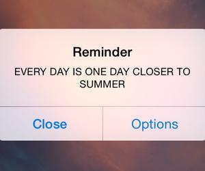 reminder, summer, and motivation image