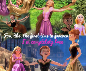 anna, disney, and fandom image