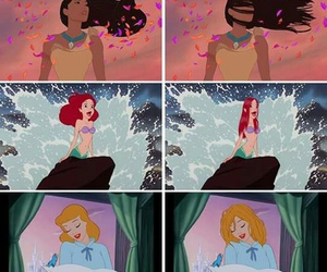 disney, funny, and hair image