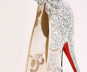 limited, wedding shoes, and cinderella shoes image