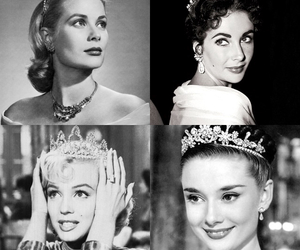 Elizabeth Taylor, grace kelly, and Marilyn Monroe image