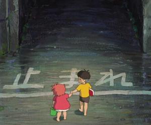 anime, boy, and dark image