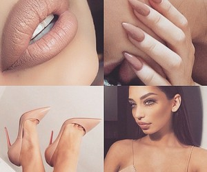 beauty, fashion, and lips image