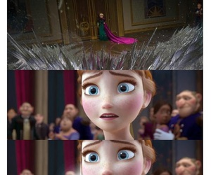 anna, frozen, and funny image