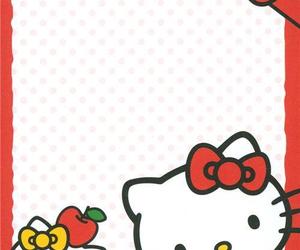 hello kitty, kitty, and memo image