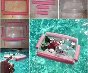 diy, piscine, and water image