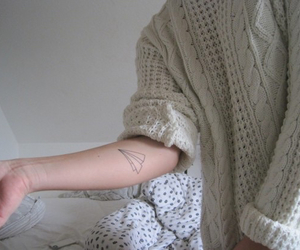 tattoo, grunge, and pale image