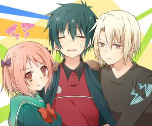 anime, the devil is a part timer, and japan image