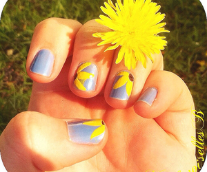 flower, Nagel, and nail image