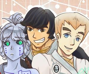 cole, zane, and ninjago image
