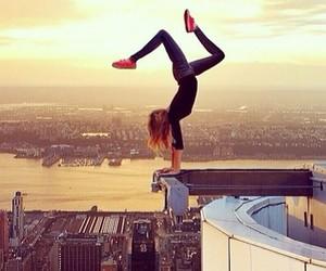amazing, girl, and gymnastic image