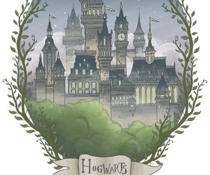hogwarts, home, and hp image