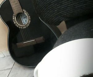 coffee guitar love life image